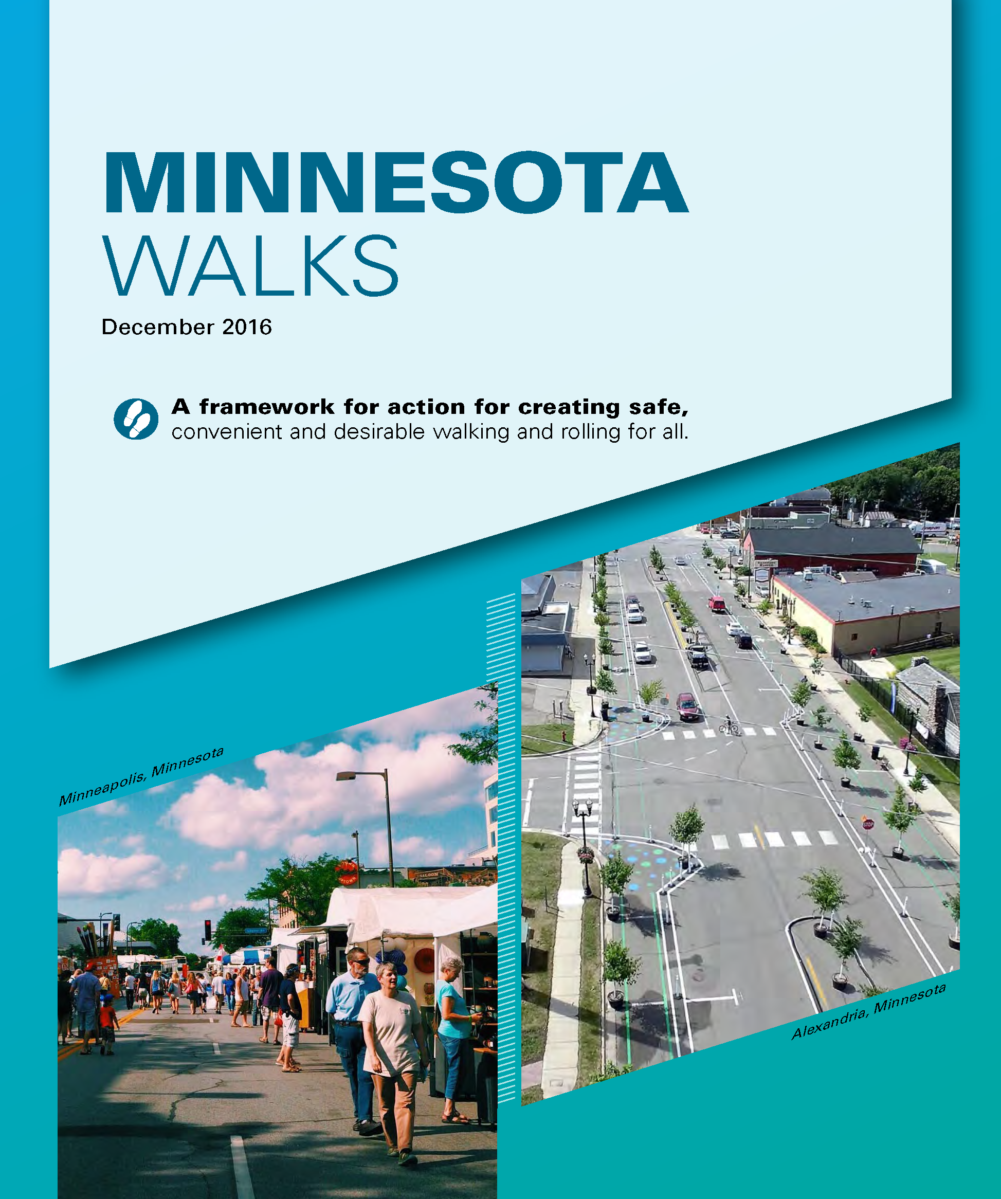 Minnesota Walks plan cover